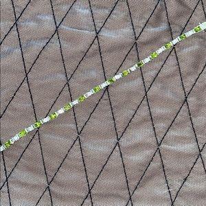 Like New!  Crystal tennis bracelet